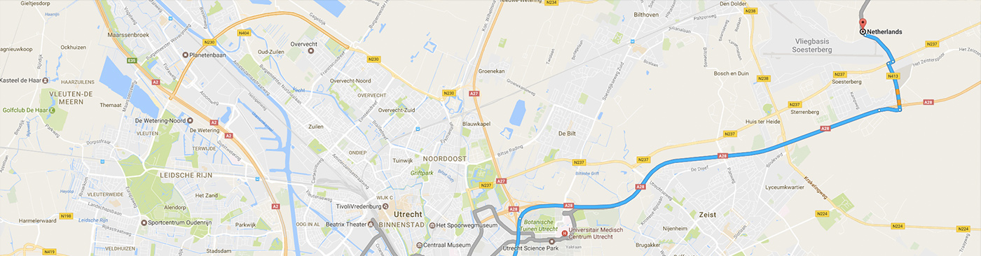 Routeplanning functie